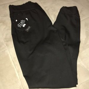 Never fade jogger color black
